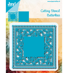 Joy! Crafts stanssisetti Square Butterflies