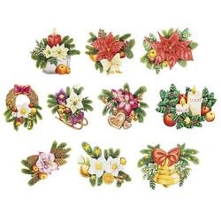 Valmiiksi leikattuja 3D kuvia, Xmas Flowers