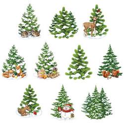 Valmiiksi leikattuja 3D kuvia, Winter Trees