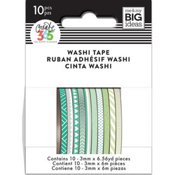 Mambi Mini Washi -teipit, Green Hues
