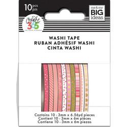 Mambi Mini Washi -teipit, Pink Hues