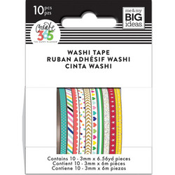 Mambi Mini Washi -teipit, Brights
