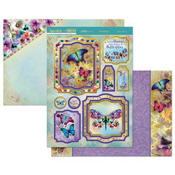 Hunkydory Sparkle & Shine Mirri Magic Luxury Topper -pakkaus, Flights of Fancy