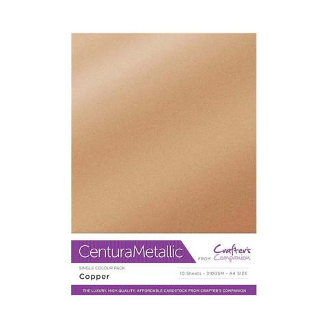 Centura Metallic helmiäiskartonki, sävy Copper