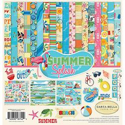 Carta Bella Summer Splash -paperipakkaus, 12 x 12