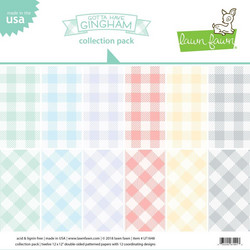 Lawn Fawn paperipakkaus Gotta Have Gingham, 12
