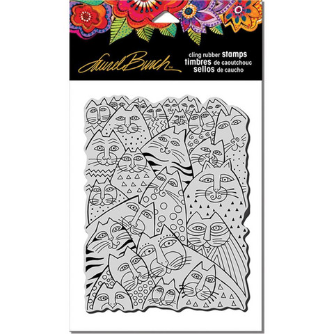 Stampendous Laurel Burch leimasin Whiskers