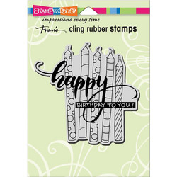 Stampendous leimasin Candle Wish