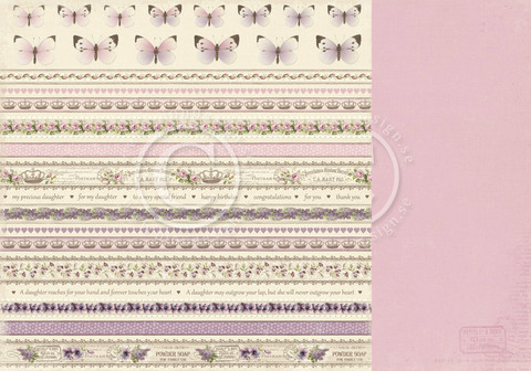 Pion Design My Precious Daughter skräppipaperi Borders