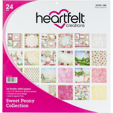 Heartfelt Creations Paperipakkaus Sweet Peony Collection