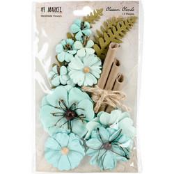 49 and Market Blossom Blends paperikukat Sea Breeze