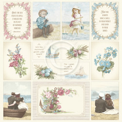 Pion Design Images From The Past skräppipaperi Seaside Stories I