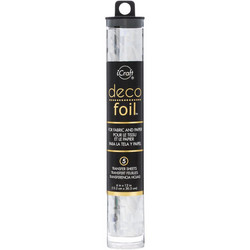 Deco Foil -folio, sävy Silver Shattered Glass
