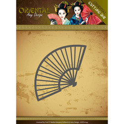 Amy Design Oriental stanssi Chinese Fan