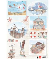 Marianne Design korttikuvat Seabreeze 2