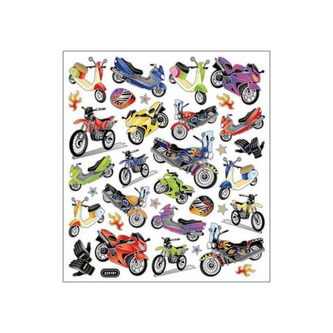 Sticker King tarrat Motorcycle Mania
