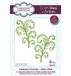 Creative Expressions Curly Fern -stanssisetti