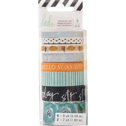 Heidi Swapp Memory Planner Washi -teipit Fresh Start, Playful