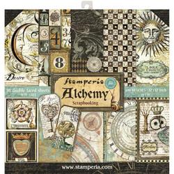 Stamperia paperipakkaus Alchemy, 12