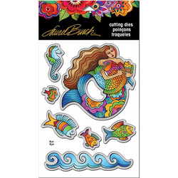 Stampendous Laurel Burch stanssisetti Mermaid Fish