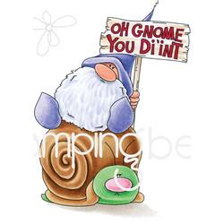 Stamping Bella kumileimasin Oh Gnome You Didnt