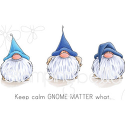 Stamping Bella kumileimasin Gnomes Have Feelings Too