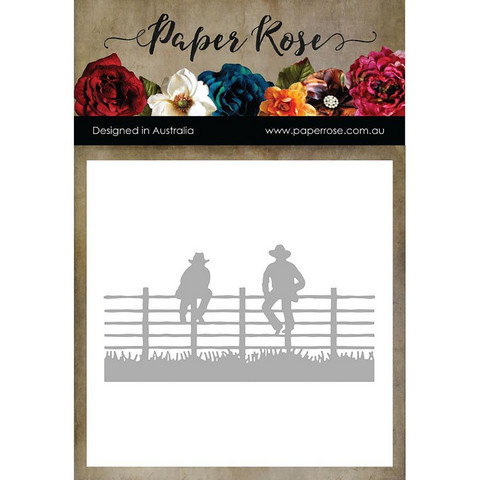 Paper Rose -stanssi Men Sitting On Fence