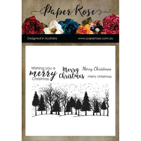 Paper Rose -leimasinsetti Winter Trees