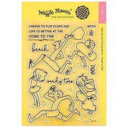 Waffle Flower leimasinsetti Sandy Toes