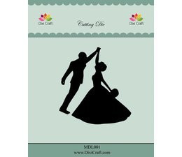Dixi Craft stanssi Wedding Couple