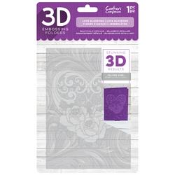 Crafter's Companion 3D kohokuviointikansio Love Blossoms