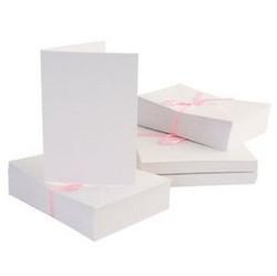 Anita's A6 korttipohja ja yhteensopiva kirjekuori, valkoinen, 100 kpl
