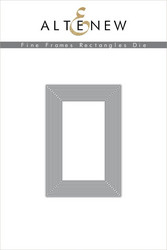 Altenew stanssi Fine Frames Rectangles