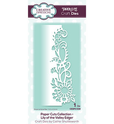 Creative Expressions stanssi Lily Of The Valley Edger