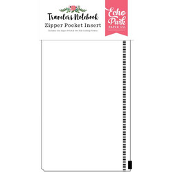 Echo Park Traveler's Notebook Zipper Pocket Insert 4.75
