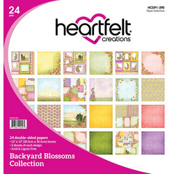Heartfelt Creations Paperipakkaus Backyard Blossoms Collection