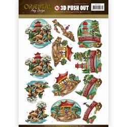 Amy Design Oriental 3D-kuvat, Landscapes. Valmiiksi leikatut
