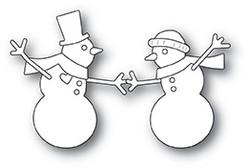 Memory Box Dancing Snowmen -stanssisetti