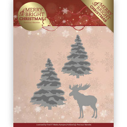 Precious Marieke Merry and Bright Christmas stanssisetti Forest