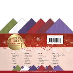 Precious Marieke Merry & Bright Christmas kartonkipakkaus, A5