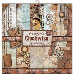 Stamperia paperipakkaus Clockwise, 12