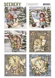 Card Deco Classic Christmas -korttikuvat