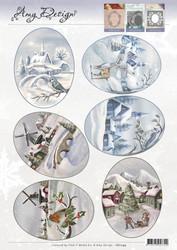 Amy Design Winter Landscapes -korttikuvat