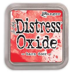 Distress Oxide -mustetyyny, sävy barn door