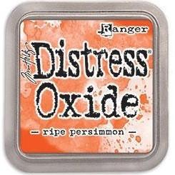Distress Oxide -mustetyyny, sävy ripe persimmon