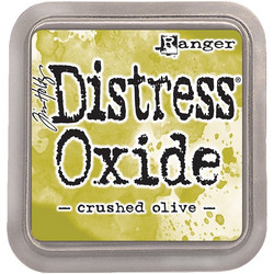 Distress Oxide -mustetyyny, sävy crushed olive