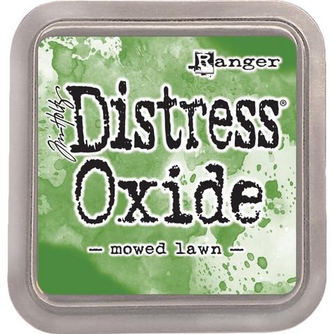 Distress Oxide -mustetyyny, sävy mowed lawn