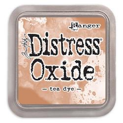 Distress Oxide -mustetyyny, sävy tea dye