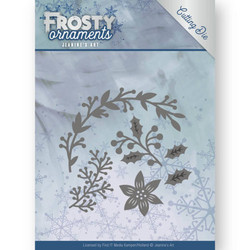 Jeanines Art Frosty Ornaments stanssisetti Christmas Branches