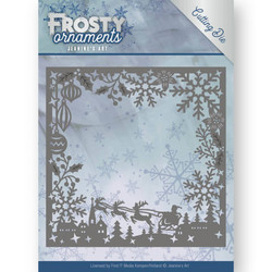 Jeanines Art Frosty Ornaments stanssi Frosty Frame